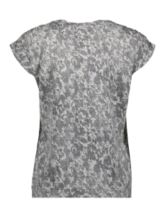 t shirt met elastische schouderstukken 21101790 sandwich t-shirt 80076