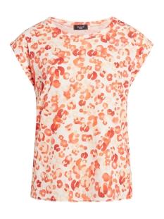 SisterS point T-shirt T SHIRT LOW 302 CREAM/ORANGE LEO