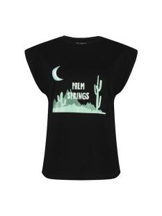 Lofty Manner T-shirt YMG30 1 TEE XARA BLACK