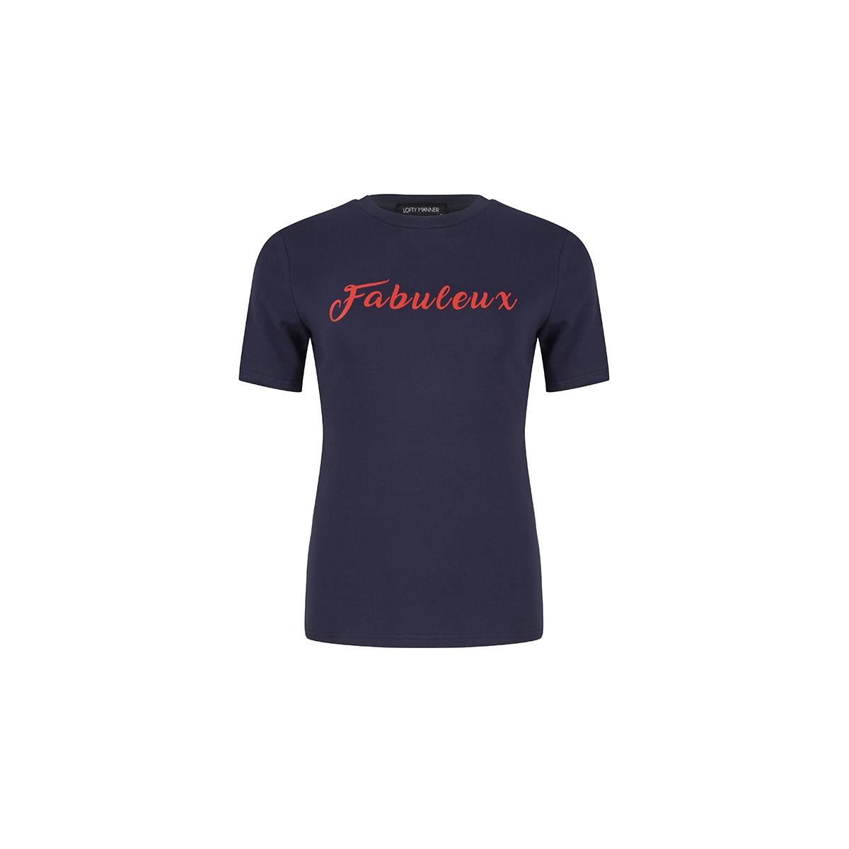 mf55 tee rivee lofty manner t-shirt blue