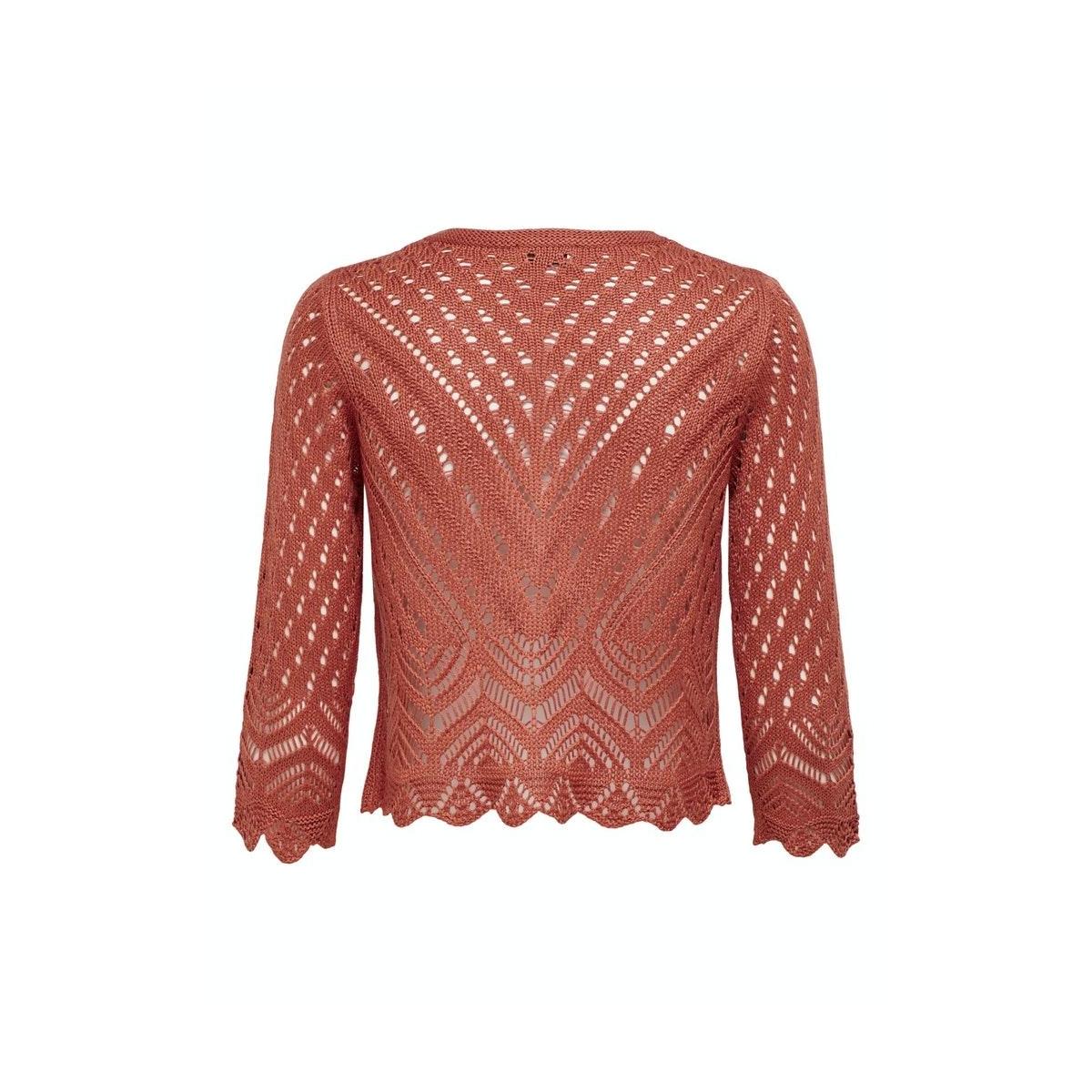 jdysun 3/4 cropped cardigan knt 15184486 jacqueline de yong vest bruschetta