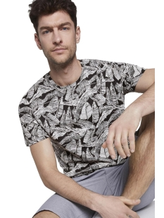 Tom Tailor T-shirt T SHIRT MET ALL OVER PRINT 1018893XX10 22930