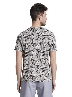t shirt met all over print 1018893xx10 tom tailor t-shirt 22930