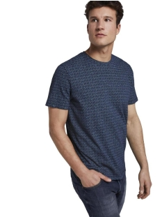 Tom Tailor T-shirt T SHIRT MET ALL OVER PRINT 1018893XX10 22928