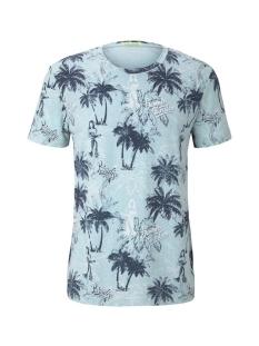 t shirt met all over print 1018912xx12 tom tailor t-shirt 23797