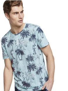 Tom Tailor T-shirt T SHIRT MET ALL OVER PRINT 1018912XX12 23797