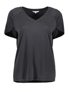 Sandwich T-shirt RIBGESTREEPT T SHIRT MET V HALS 21101855 80041
