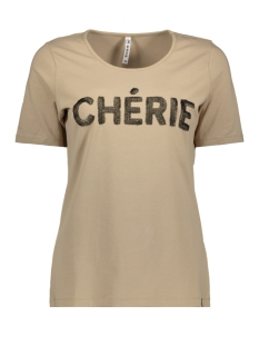 Zoso T-shirt CHERIE T SHIRT 202 SAND