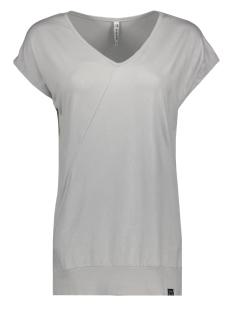 Zoso T-shirt SACHA COATED V NECK TOP 202 KIEZEL