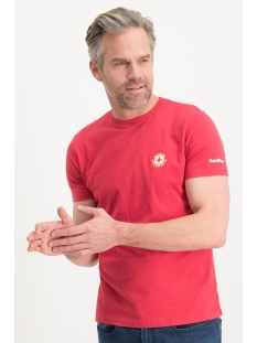 Haze & Finn T-shirt TEE LOGO EMBRO MU13-0010 AMERICAN RED