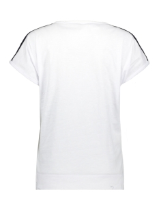 sandra t-shirt with print 203 zoso t-shirt white/navy