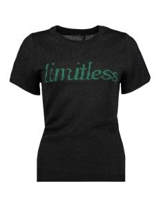 Lofty Manner T-shirt MF17 TOP CLARISSE BLACK