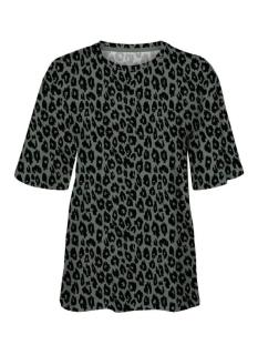 Vero Moda T-shirt VMFELICE S/S LEO AOP T-SHIRT EXP 10240838 Laurel Wrath/BLACK LEO
