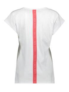 dylan t shirt with print 203 zoso t-shirt white/summer red