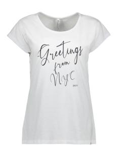Zoso T-shirt DYLAN T SHIRT WITH PRINT 203 WHITE/NAVY