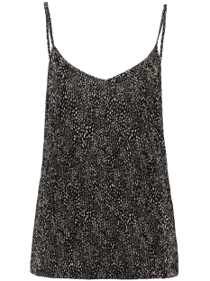 Garcia Top PLISSE SINGLET MET ALL OVER PRINT S00001 3258 Smoke Gray