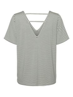 vmpolly ss top jrs 10230884 vero moda t-shirt snow white/laurel