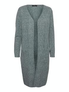 Vero Moda Vest VMDOFFY LS LONG OPEN CARDIGAN COLOR 10219176 Pine Grove/W. WHITE
