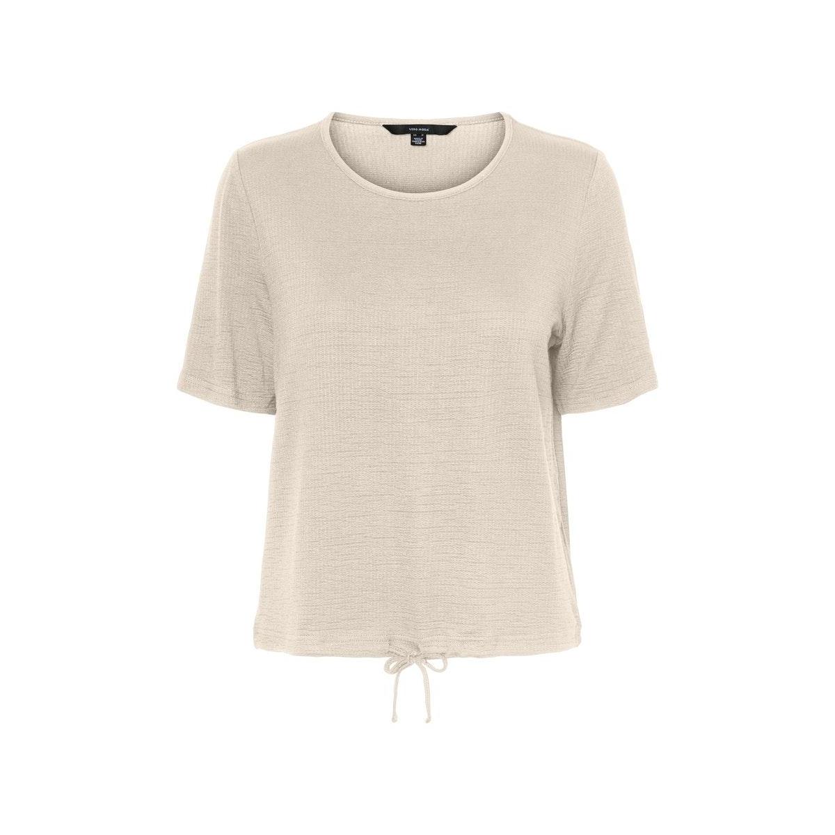 vmaleah ss top jrs ga 10234459 vero moda t-shirt birch
