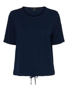 Vero Moda T-shirt VMALEAH SS TOP JRS GA 10234459 Navy Blazer