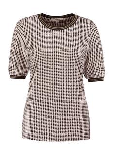 Garcia T-shirt T SHIRT MET PIED DE POULE T00206 2389 Soft Kit
