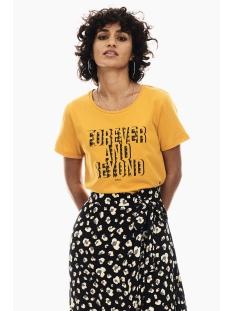 Garcia T-shirt T SHIRT MET TEKSTPRINT T00201 3309 Marigold