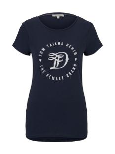Tom Tailor T-shirt JERSEY T SHIRT 1016431XX71 10360