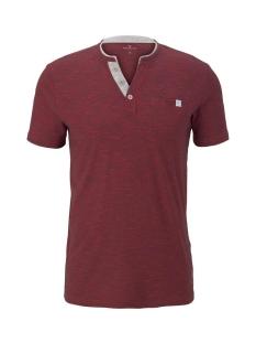 Tom Tailor T-shirt GESTREEPT HENLEY HEMD 1016145XX10 16961