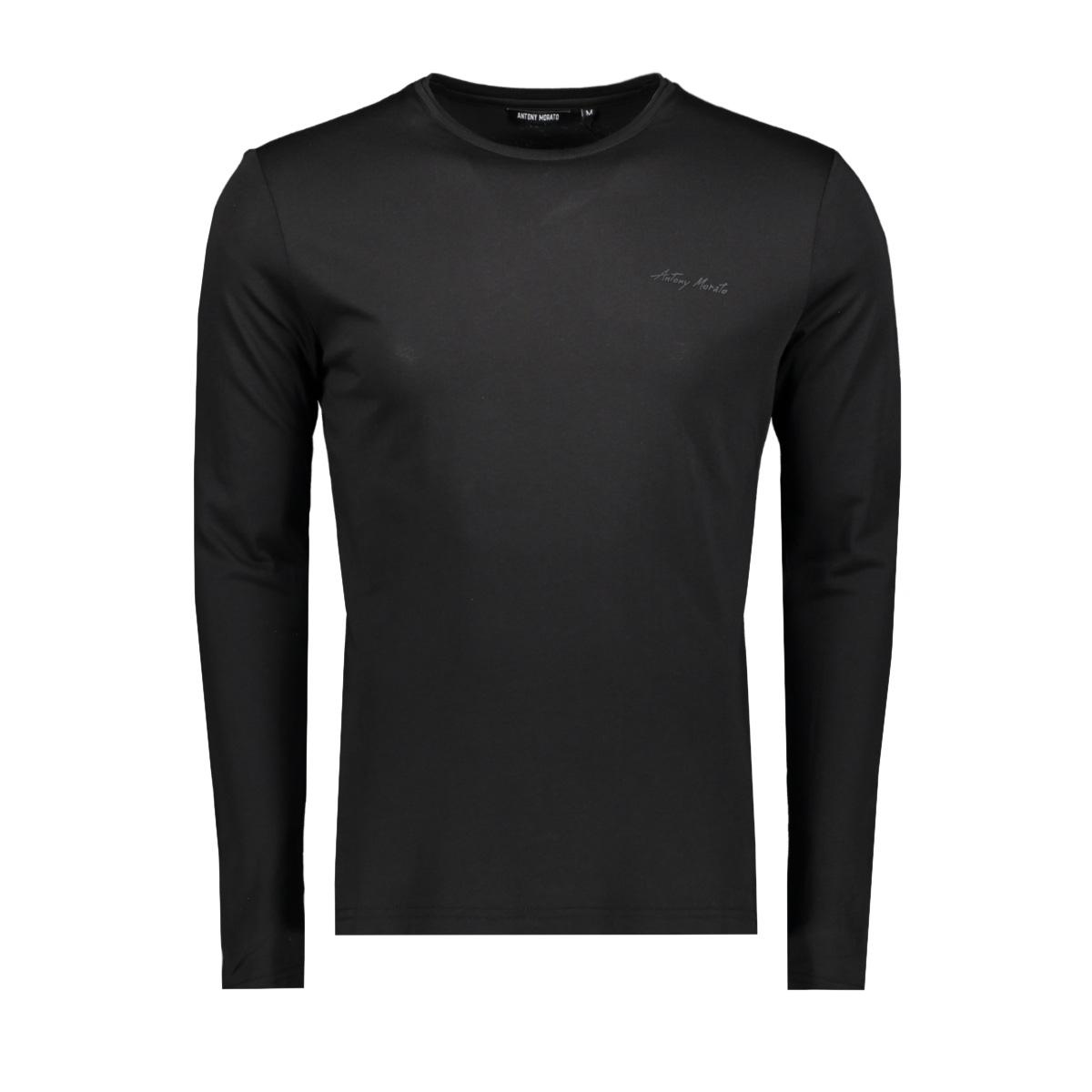 knitwear mmkl00279 antony morato t-shirt 9000 black