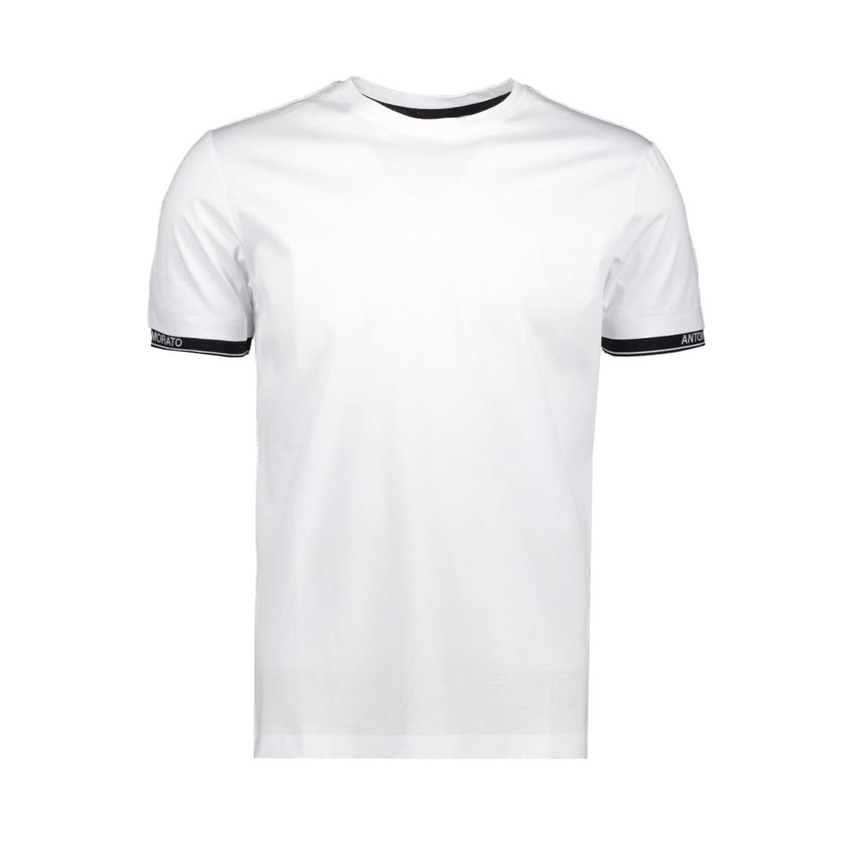 orange line mmks01837 antony morato t-shirt 1000 white
