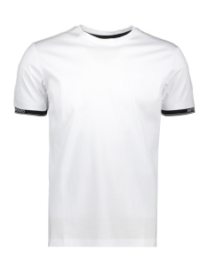 Antony Morato T-shirt ORANGE LINE MMKS01837 1000 WHITE