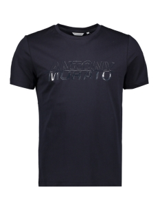 Antony Morato T-shirt SNOW BOARDER MMKS01834 7073 BLUE INK