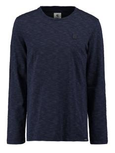 Garcia T-shirt T SHIRT MET STREEP GS010808 292 DARK MOON