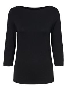 Vero Moda T-shirt VMPANDA MODAL 3/4 TOP GA NOOS 10233471 BLACK