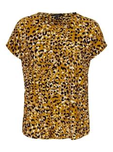 Vero Moda T-shirt VMBRITTAVA SS WIDE TOP JRS GA 10233958 Buckthorn Brown