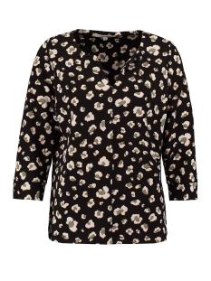 Garcia T-shirt T SHIRT MET BLOEMENPRINT T00208 60 BLACK