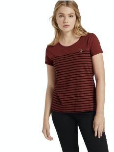 Tom Tailor T-shirt GESTREEPT T SHIRT MET BORDUURSEL 1021105XX71 13053