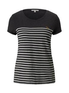 Tom Tailor T-shirt GESTREEPT T SHIRT MET BORDUURSEL 1021105XX71 10522