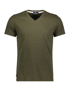 Superdry T-shirt OL CLASSIC VEE TEE M1010210A WINTER KHAKI GRIT