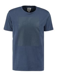 Garcia T-shirt T SHIRT MET PRINT T01203 2614 Storm Blue