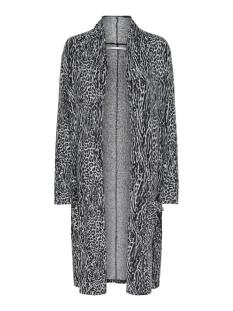 Only Vest ONLMAYEA LEO LIFE L/S CARDIGAN CC K 15208984 Light Grey Melange / MIX BLACK/