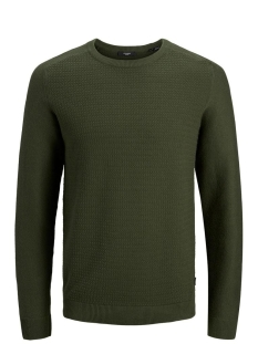 Jack & Jones Trui JPRBLAADAM KNIT CREW NECK STS 12178459 Forest Night