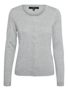 VMNELLIE GLORY LS O-NECK CARDIGAN COLOR 10235988 Light Grey Melange