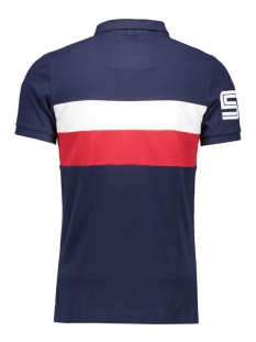 m11m0012 superdry polo navy