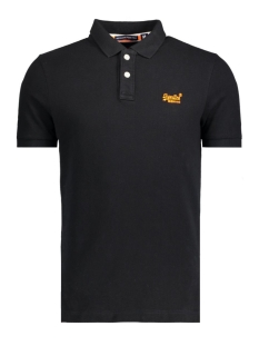 Superdry Polo M11010TODS 02A  Black