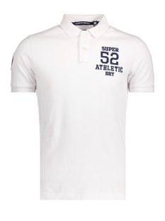 Superdry Polo M11011TO 26C Optic White