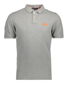 Superdry Polo M11010TO NEW FIT POLO QVK LIGT GREY GRIT