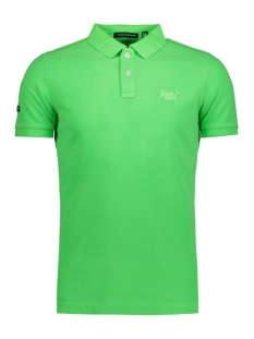Superdry Polo M11MT009F3 DESTROY POLO GCN LIME GREEN