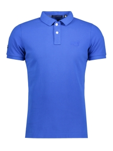 Superdry Polo M11MT009F3 DESTROY POLO ZUM DARK COBALT