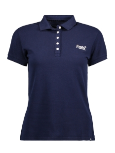 Superdry T-shirt G11000TOF1 CLASSIC POLO 11S NAVY